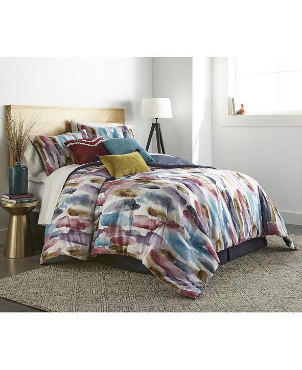 Nanshing Geneva 7-Piece California King Comforter Set
