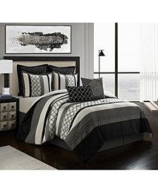 Nanshing Sydney 8-Piece California King Comforter Set