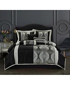 Larsa 7-Piece King Comforter Set