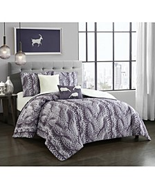 Porto 5-Piece Queen Comforter Set