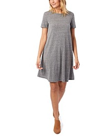 Eco-Jersey Flare Women's T-shirt Dress