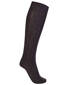Women's Super Soft Organic Cotton Seamless Toe Knee High Boot Socks