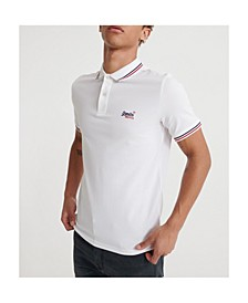 Classic Micro Lite Tipped Short Sleeved Men's Polo