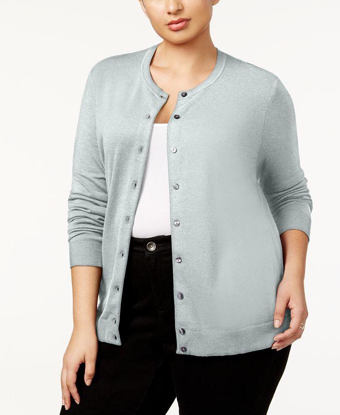 Karen Scott - Plus Size Cardigan