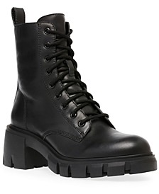 Women's Hybrid Lace-Up Lug-Sole Booties