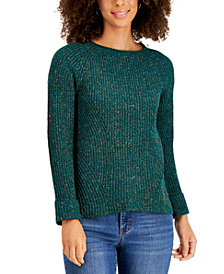 Style & Co Pointelle Sweater, Created for Macy's