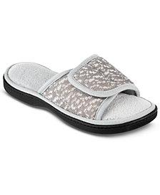 Isotoner Signature Women's Selena Sport Mesh Slide Slippers With Memory Foam