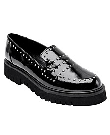 Women's Elena Lug Sole Platform Loafers