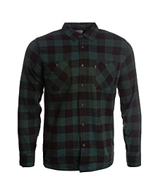 Men's Buffalo Check Flannel Shirt