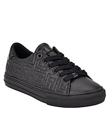 GUESS Women's Lodenn Lace-Up Sneakers