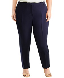 Plus Size Ankle Pants