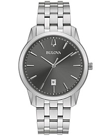 Men's Classic Sutton Stainless Steel Bracelet Bracelet Watch 40mm