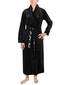 French Fleece Long Wrap Robe