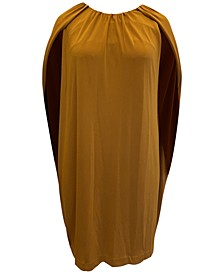 Plus Size Cape Dress, Created for Macy's