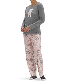 Women's Holiday 3pc Pajama Gift Set