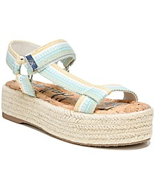 Women's Artica Banded Platform Esapadrille Sandals