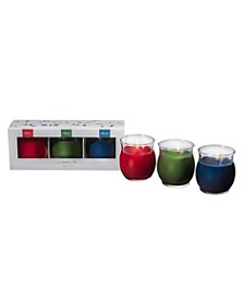 """Smell of"" Holiday Trio Candle Set"