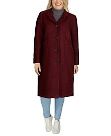 Plus Size Maxi Coat