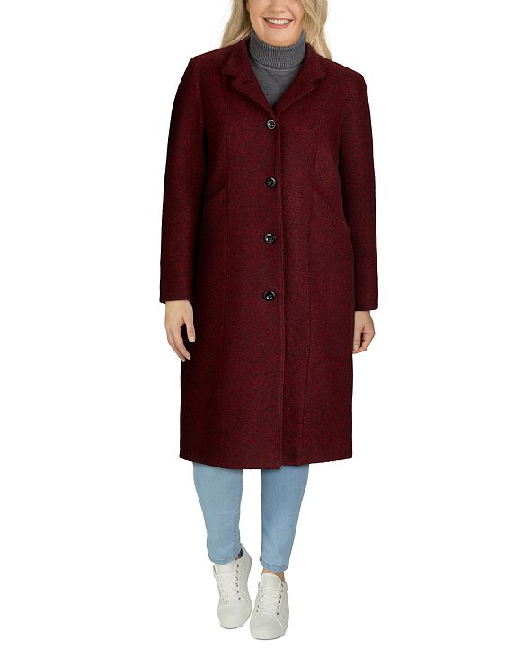 Jones New York Plus Size Maxi Coat