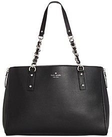 Cobble Hill Andee Leather Satchel