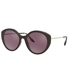 Women's Polarized Sunglasses, PR 18XS 55