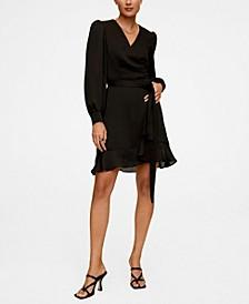Women's Crossed Design Dress