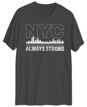 Men's Nyc Always Strong Short Sleeve T-shirt