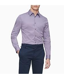 Stretch Cotton Button-Down Shirt