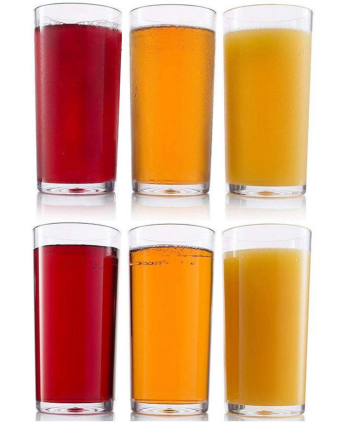 HomeIT - 6-Pc. Acrylic Glassware 20-Oz. Tumbler Cups