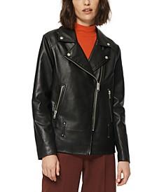 Solar Leather Moto Jacket