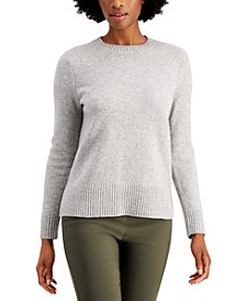Long-Sleeve Crewneck Sweater, Created for Macy's