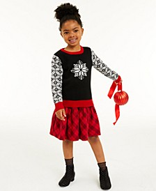 Toddler Girls Snowflake Sweater, Created for Macy's