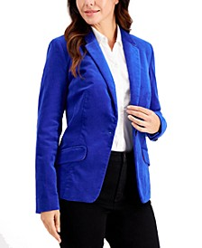 Velveteen Blazer, Created for Macy's