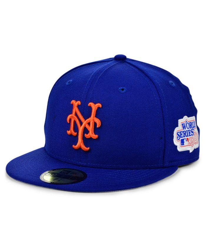 New Era New York Mets World Series Patch 59FIFTY Cap & Reviews - Sports Fan Shop By Lids - Men - Macy's