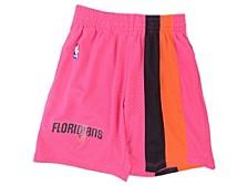 Men's Miami Heat Reload Collection Swingman Shorts