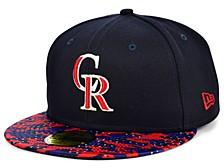 Colorado Rockies Star Viz 59FIFTY Cap