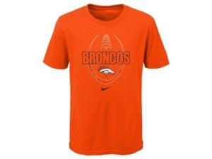 Nike Denver Broncos Youth Football Icon T-Shirt