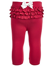 Baby Girls Ruffle Leggings, Created for Macy's