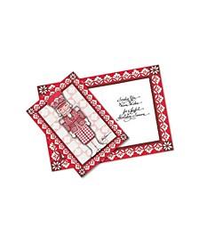 Nutcracker 10 Greeting Cards and Envelopes
