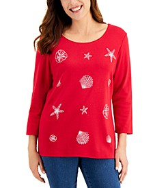 Holiday Sparkle Top, Created for Macy's