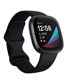 Fitbit Sense Carbon Strap Smart Watch 39mm