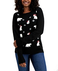 Polar Bear Sweater, Created for Macy's