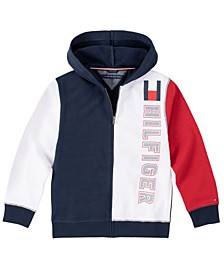Little Boys Color-block Full Zip Hoodie