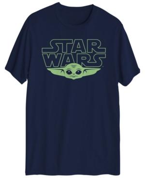 Men's Star Wars The Child Yoda Head Graphic T-shirt