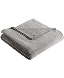 Solid Ultra Soft Plush Full/Queen Blanket