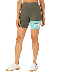 Kaira Colorblocked Bike Shorts