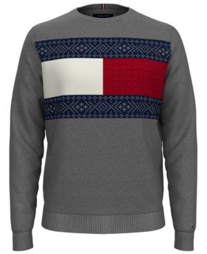 Tommy Hilfiger Men's Big & Tall Fair Isle Pullover Sweater
