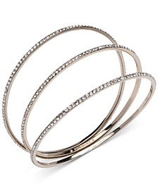 3-Pc. Set Crystal Stack Bangle Bracelets