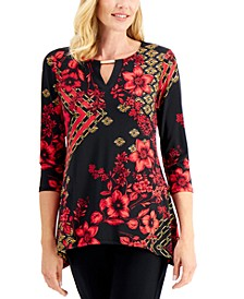 Printed Hardware Top, Created for Macy's