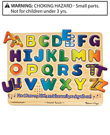 Melissa and Doug Kids Toy, Alphabet Sound Puzzle